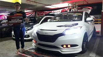 News Autovision Autolight Contest Manado Didominasi Mobil Honda
