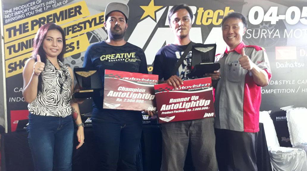 News Ini Dia Pemenang Autovision AutoLight Up 2017 di Kota Padang